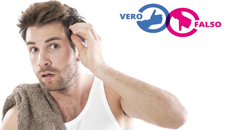 E  vero o non è vero  I miti sulla perdita dei capelli - Medita Medical 347f754e187f